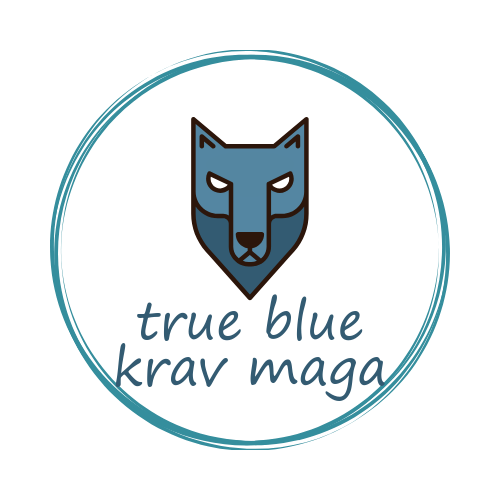 true blue Krav Maga logo